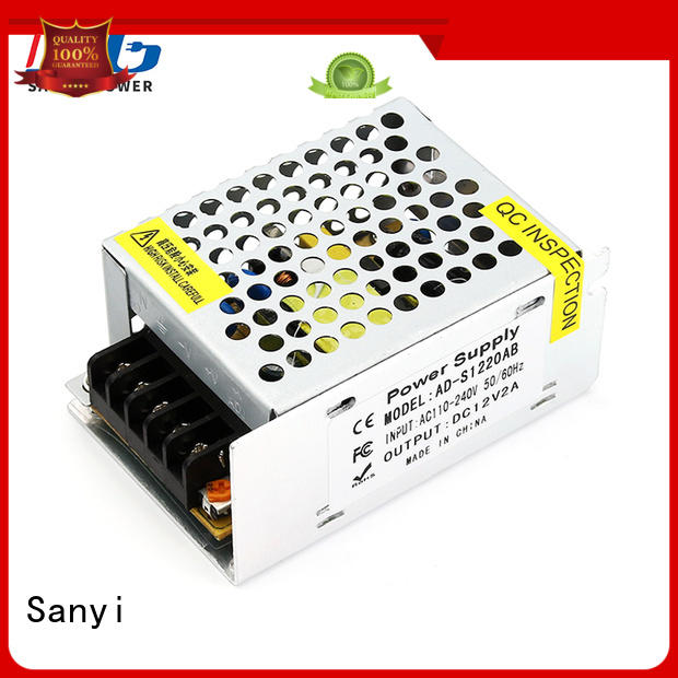 Sanyi top brand 12 dc power supply for business for tour