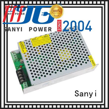 best battery charging power supply top-ten for cctv Sanyi