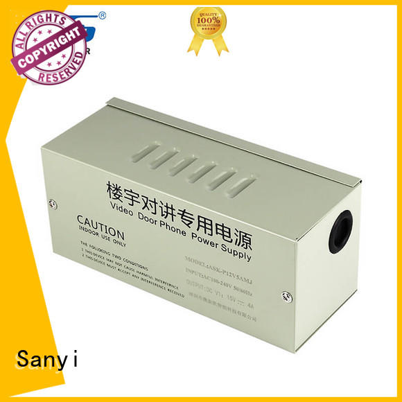 high-end cctv camera power supply durable for camera Sanyi