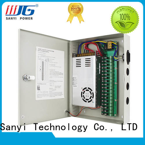 New cctv power supply box 12v high quality channel system for led