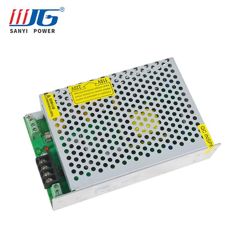 12V/24V 96W(max) battery backup power supply for CCTV EPS-5308