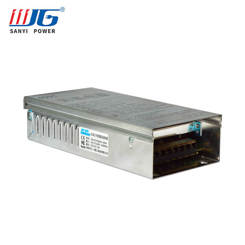 12V 120W Rainproof Power Supply Box For LED Lighting