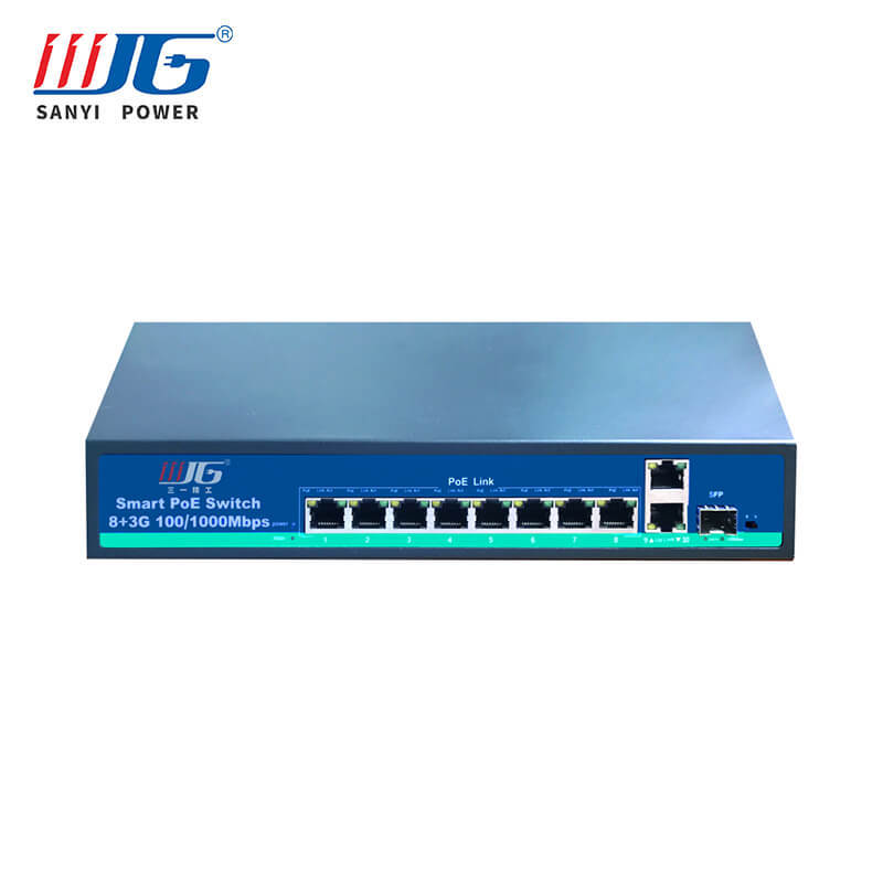 4 port to 32 port poe network switch for cctv camera