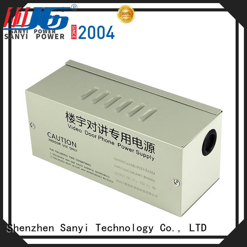 electrical cctv camera power supply 12vdc power for cctv Sanyi