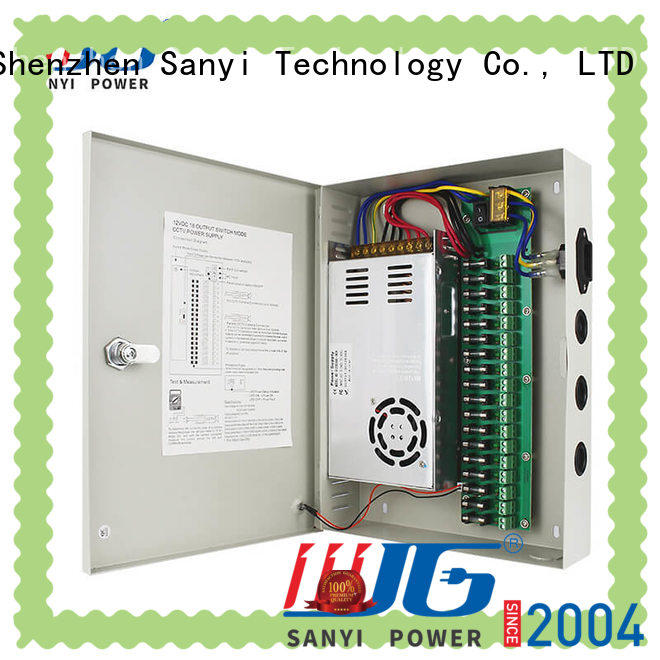Sanyi electrical power supply cctv road