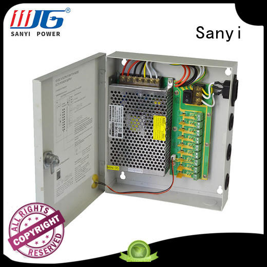 Sanyi high quality cctv power supply 12v access control for led