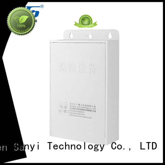 Sanyi High-quality cctv security camera power supply adapter output security camera
