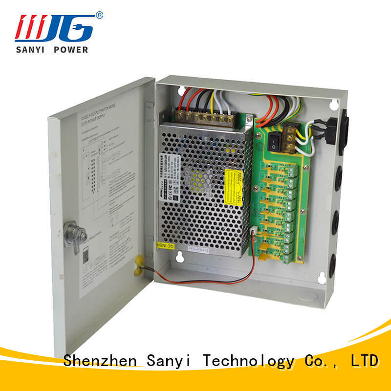 electrical cctv camera power supply 12vdc road security camera Sanyi