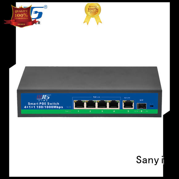 universal poe switch 8 port network high quality for electronics