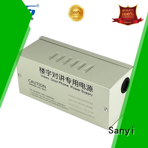 Sanyi Top cctv smps power supply output for cctv