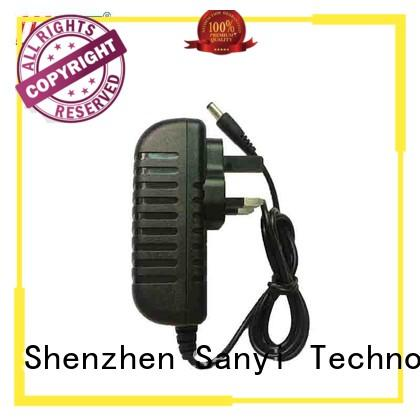 Sanyi factory price wall mount power adapter energy-saving for camera