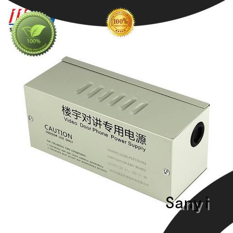 electrical cctv power supply box 12v power Sanyi