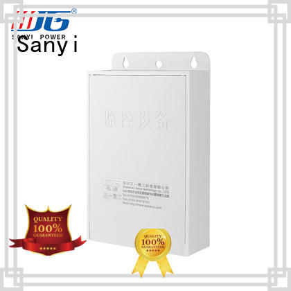 Sanyi New 12 volt power supply for security cameras long lifespan for cctv