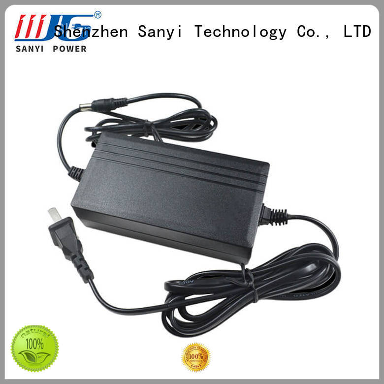 energy-saving wall mount power adapter popular for electronics Sanyi
