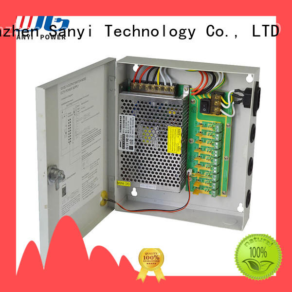 Best cctv power supply for long distance high quality access control for camera