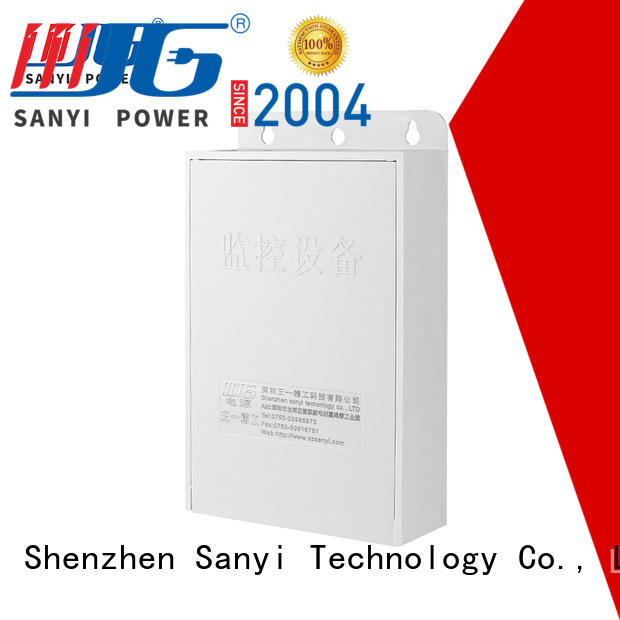 durable power supply cctv high quality security camera Sanyi