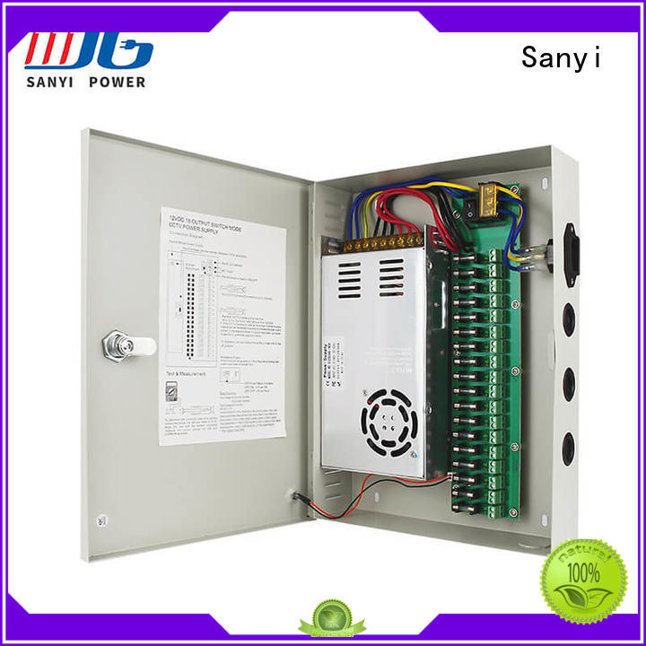 Sanyi high quality security system power supply channel system security camera