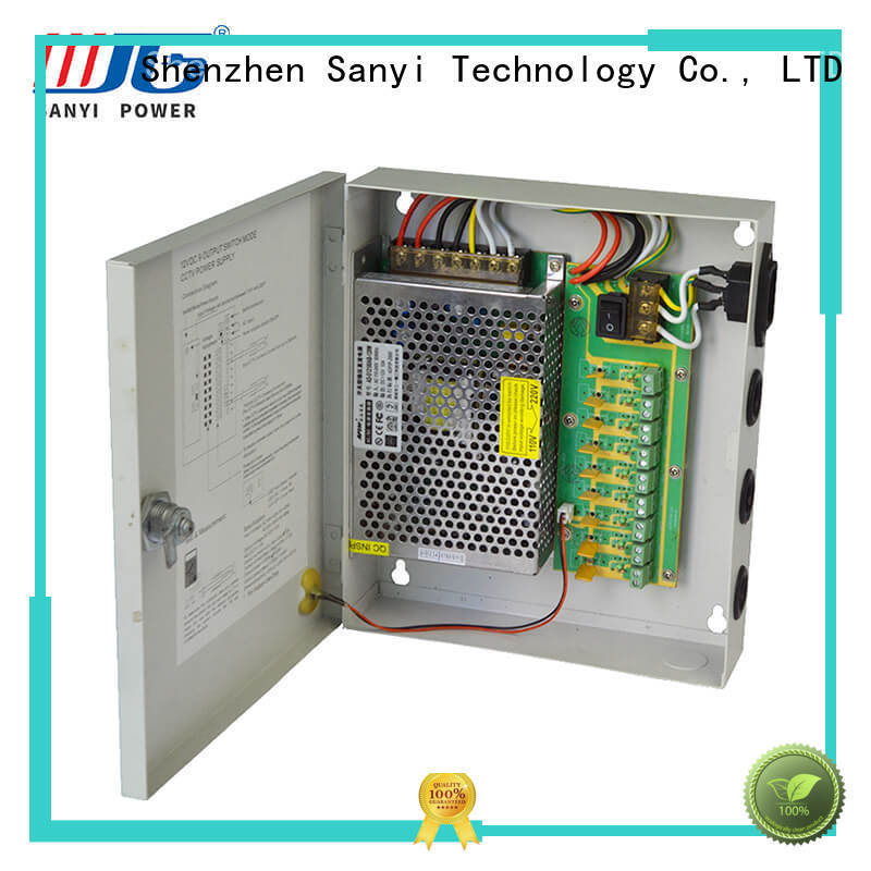 high quality cctv power supply channel system for led