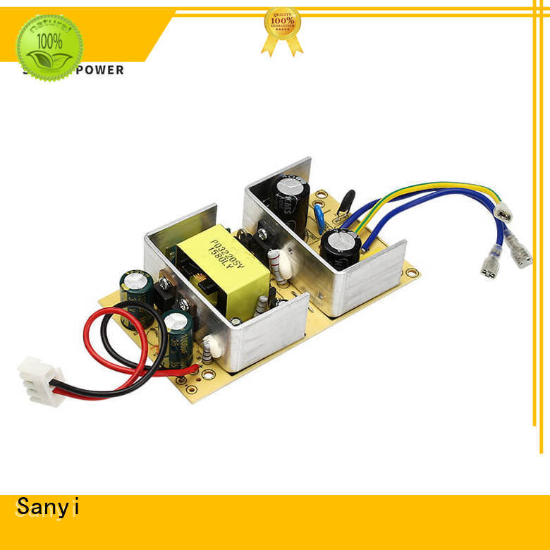 Sanyi high quality open frame power supply 12v factory price for electronics