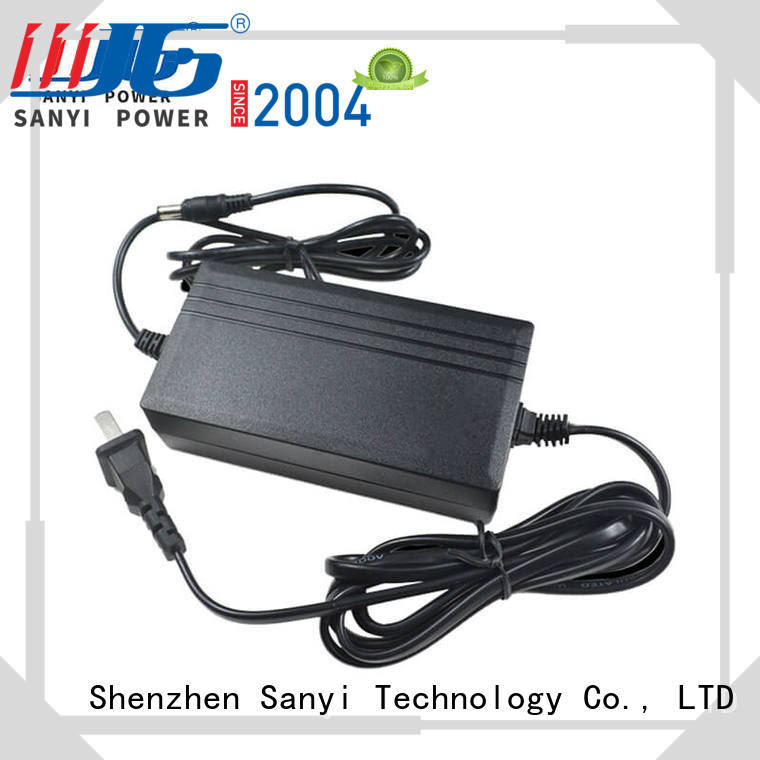 Sanyi popular ac dc power supply adapter factory for camera