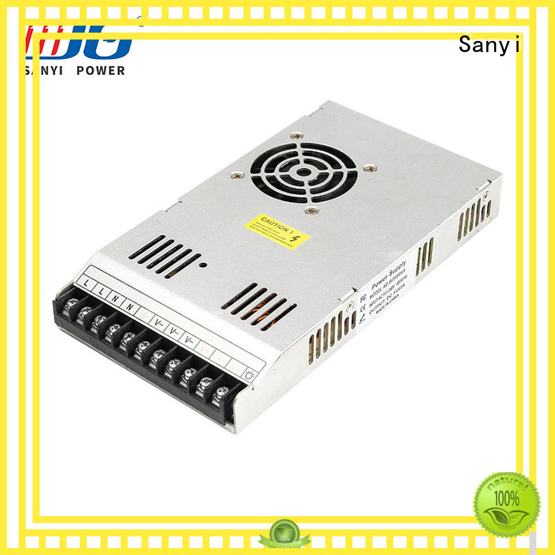 Sanyi Latest switching power supply 12v 30a factory for lights