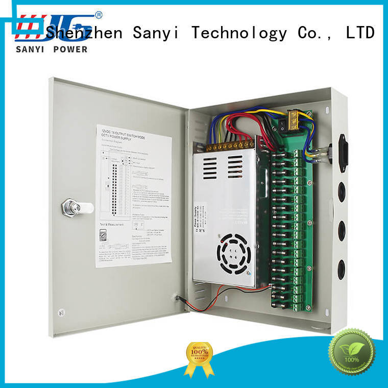 Sanyi high quality outdoor cctv power supply road for illuminator