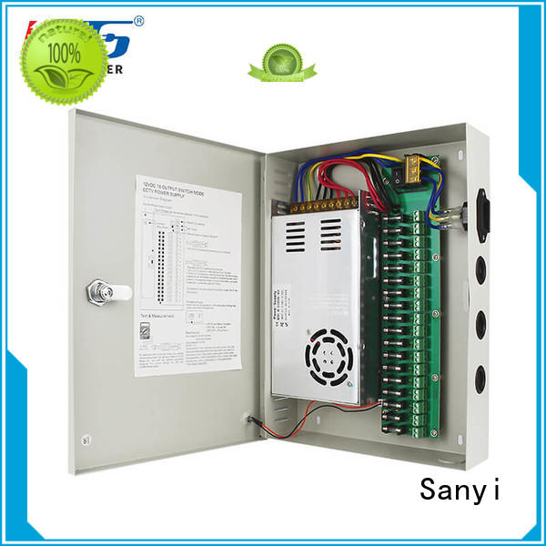 high-end cctv power supply box monitoring for camera
