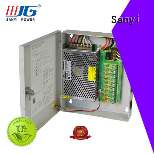 high quality cctv power supply box 12v high-end for camera Sanyi