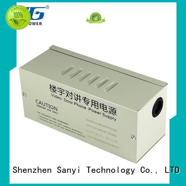 Sanyi high quality power supply unit for cctv cameras long lifespan security camera