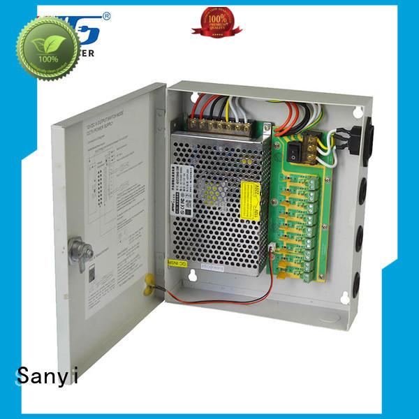 Sanyi electrical cctv power supply box monitoring for illuminator