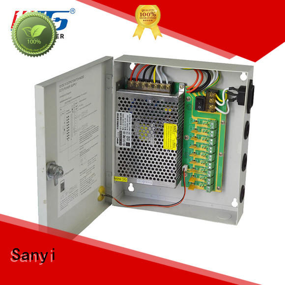 Sanyi high-end cctv power supply splitter output for camera