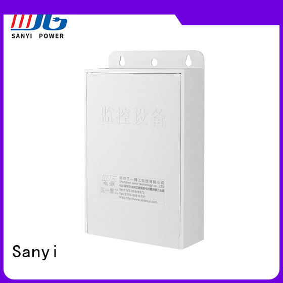 Sanyi high-end security camera power supply road for cctv