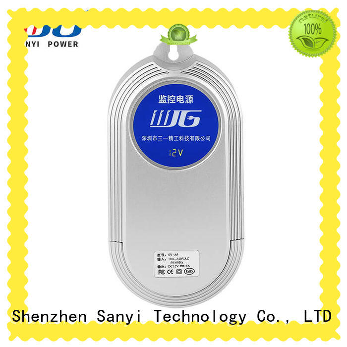 high quality security camera power supply high-end for led Sanyi