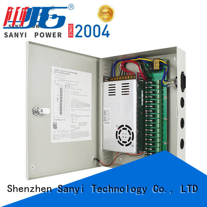 Sanyi High-quality cctv power supply box support security camera