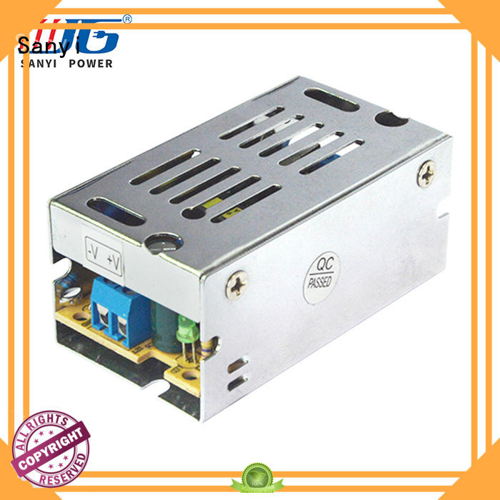 Sanyi top brand 12v to 5v switching power supply for business for lights
