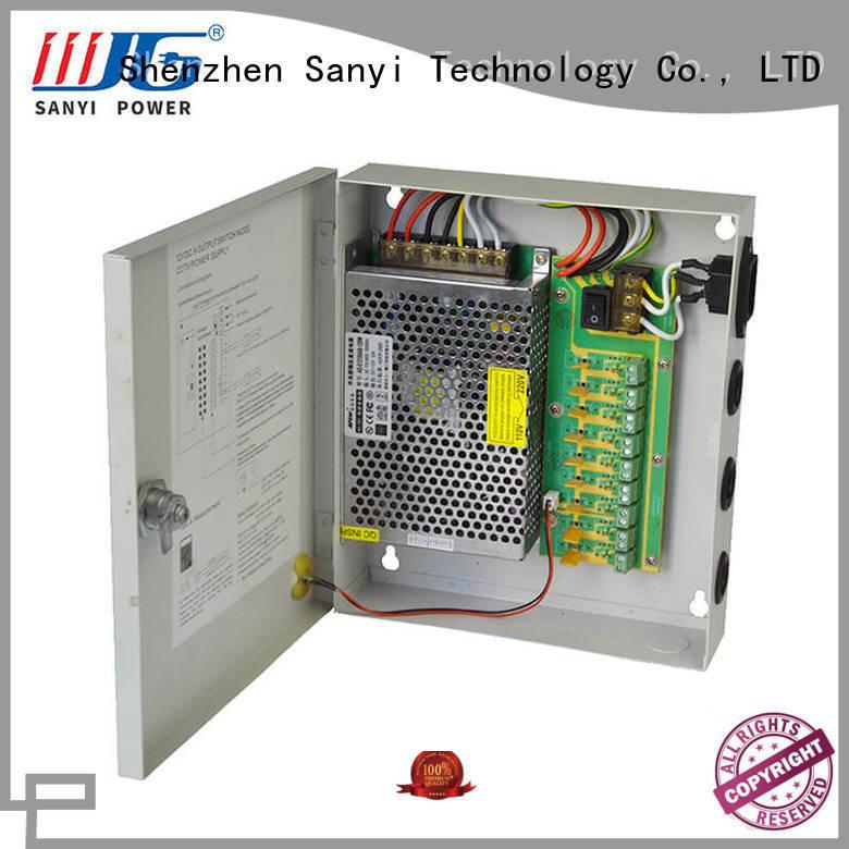 Custom cctv 8 way power supply high quality monitoring for cctv