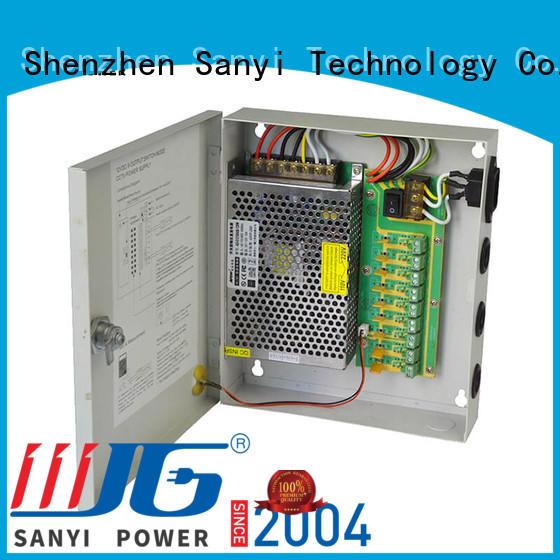 Sanyi Latest wireless camera power supply box support security camera