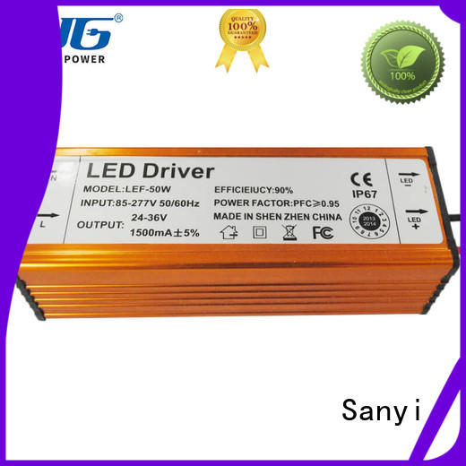 Sanyi power led strip lights power supply inquire now for camera