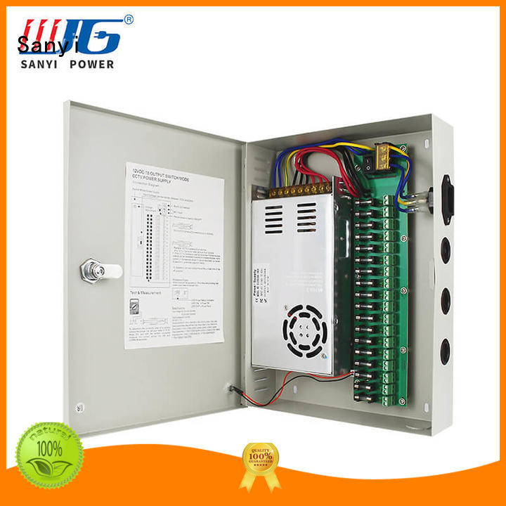security camera power supply 12v durable Sanyi