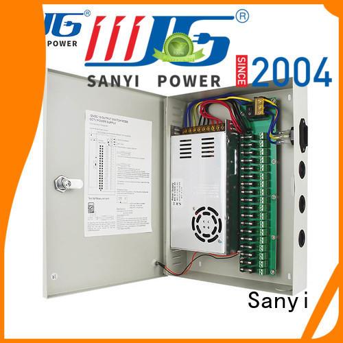 Latest power supply dvr cctv durable power security camera