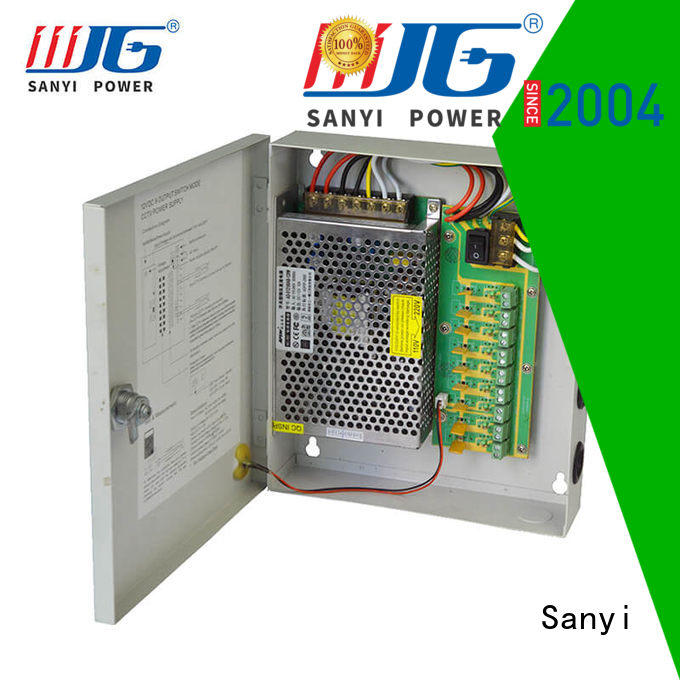 Sanyi high-end security camera power connector box support for led