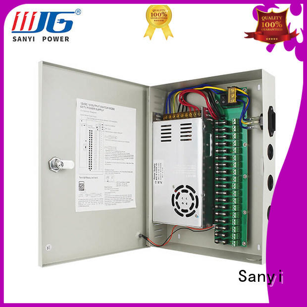 Sanyi New cctv camera power connector access control for illuminator