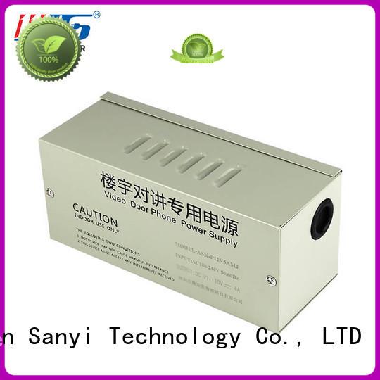 camera power supply 12vdc monitoring for illuminator