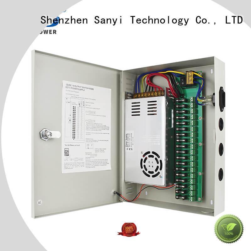 Sanyi electrical cctv power supply 12v high quality for illuminator