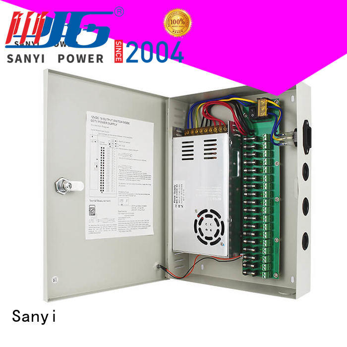 durable cctv power supply 12v high-end for cctv Sanyi