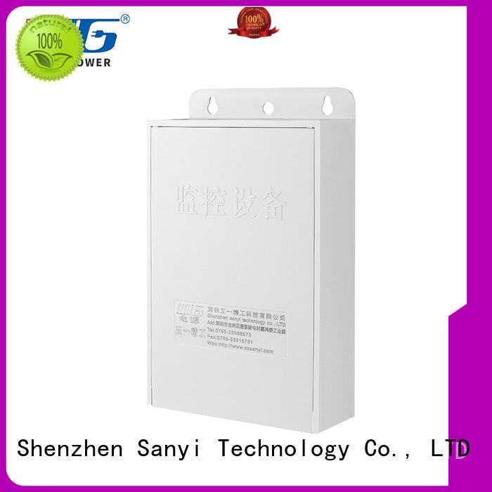 high-end power supply cctv power for illuminator Sanyi