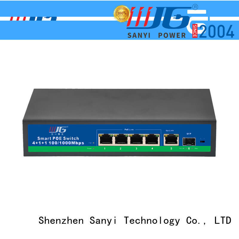 Sanyi Best switch poe factory price for electronics