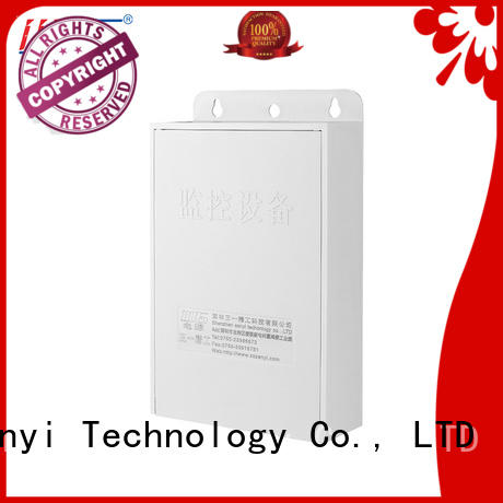 Sanyi security camera power supply durable for led