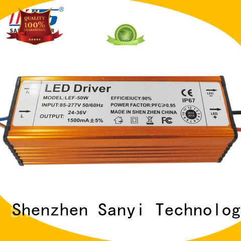 Sanyi aluminum led driver power box for camera