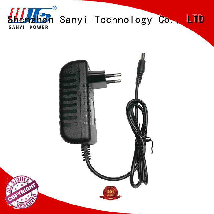 Sanyi New wall power adapter 12v factory for camera